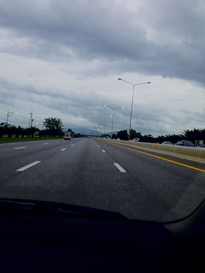 I took a photo when I was driving 140 km/hour. Driving In The Car On The Road Streetphotography My Hometown Sky Clouds Capturing Movement Eye Em Around The World Hello World