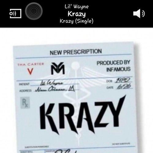 Nigga you Krazy!! Lilwayne Tunechi Weezy Thacarter5 carter5season krazy single mad newfavourite ymcmb