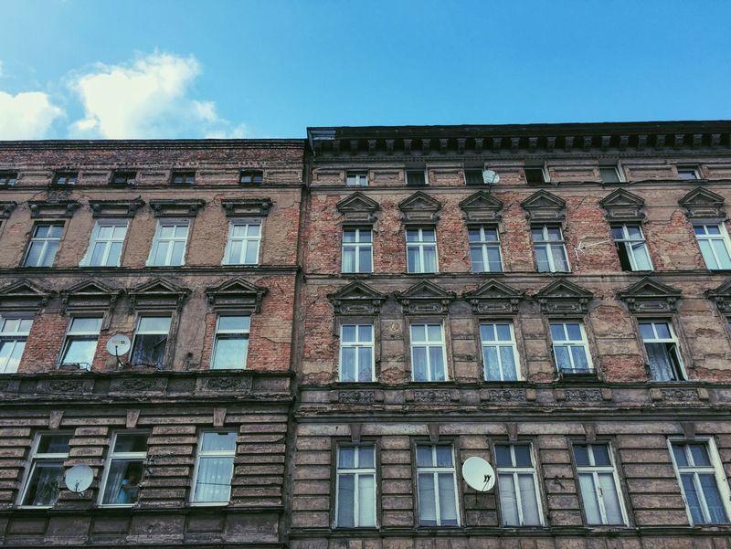 Stettin Szczecin Poland Architecture Lookingup Urban Landscape Polish Straight Lines