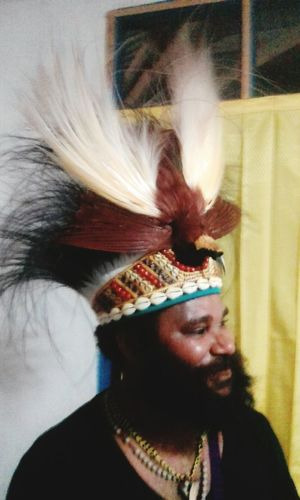Human Hair Lifestyles Human Face One Person Real People Social Issues West Papua Culture West Papua Men Beauty In Nature Countrylife Coulture