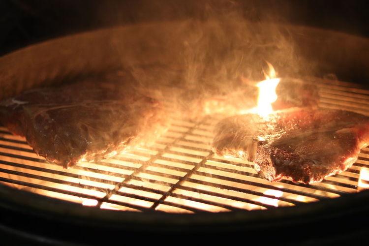 Meat Burning