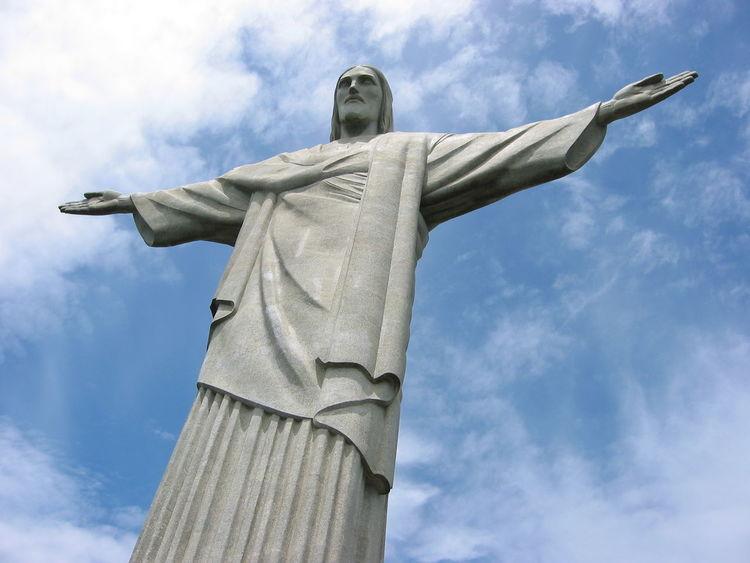 Cristo Redentor-Río De Janeiro No People Religion Statue Rio De Janeiro Wonderful Place