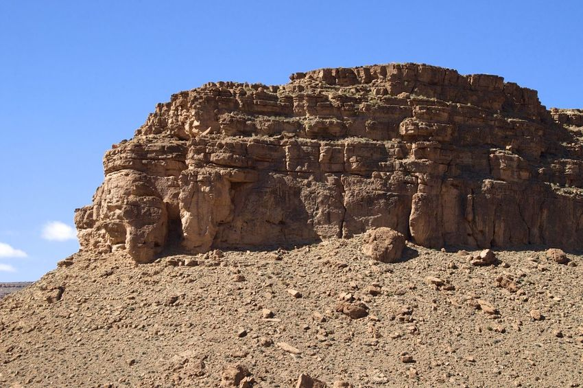 Ziz valley, Errachidia in Morocco. Morocco MoroccoTrip North Africa Africa Arid Climate Climate Day Eroded Errachidia Geology No People Outdoors Physical Geography Rock Rock - Object Rock Formation Sky Solid Tourism Tranquil Scene Tranquility Travel Destinations Valley Ziz Ziz Valley
