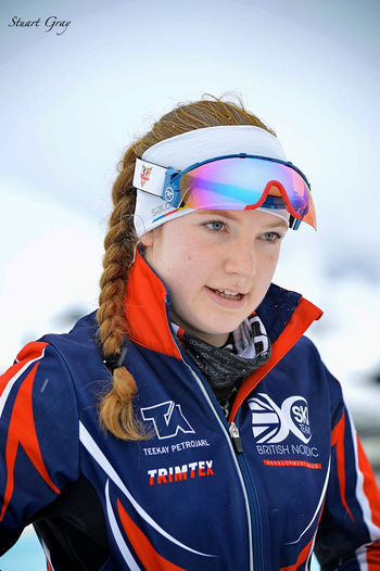 British British Nordic Development Squad Rossignol Salomon Teekay Petrojarl Trimtex Day Front View Girl Nordic Skiing One Person Outdoors People Portrait Real People Warm Clothing