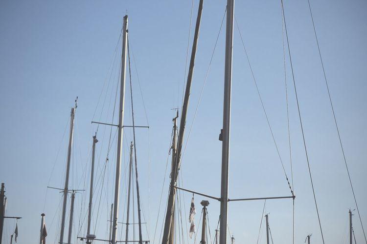 Blue Copenhagen Denmark Mast Outdoors Sail Sky Tourism