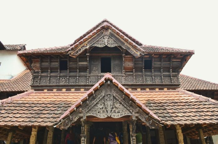 Architecture Building Exterior Built Structure Ethnic Hindu India Palace Roof South India