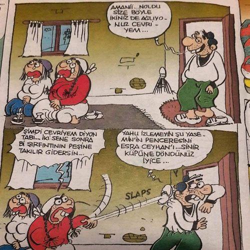 Bayirgulu Karikatur Gulmek Leman