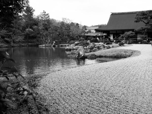 The temple of Arashimaya is quiet and the garden perfectly done, Kyoto, Japan. Japan Kyoto Arashimaya Temple Buddhism Garden Street Photography X100t X100gang Fujifeed Fujifilm Fujifilm_xseries Black And White Monochrome Photography