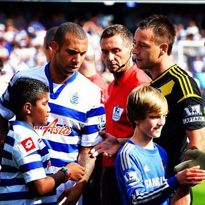 Anton Ferdinand being a bitch because he can't accept it if someone calls him what he is Bitch Ferdinand Terry QPR Chelsea