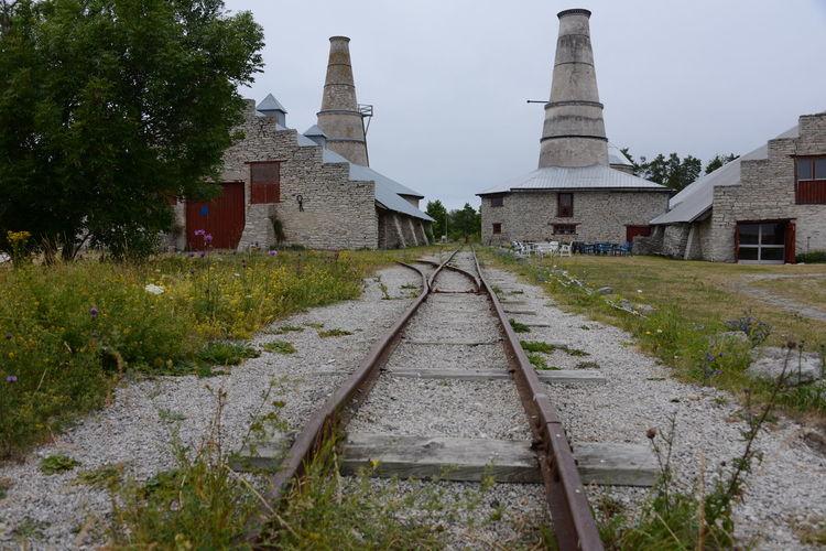 Industrial Photography Railroad Track Zementwerk Architecture Archtektur Built Structure Day No People Sieden Goatland