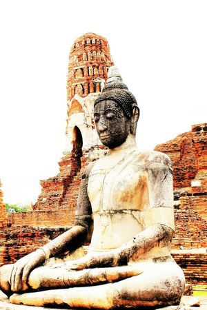 Ruins of Buddhist Monastery in Ayutthaya Thailand Archaeological Buddhist Budhha Statue Historical Building Outdoors Religion Ruin Temple - Building The Great Outdoors - 2016 EyeEm Awards Travel Destinations Travel Location Travel Photography