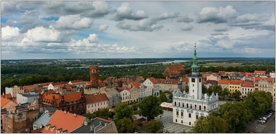 Chełmno rynek Old Town Old Buildings Panorama Panoramic Photography Summer Photowalk Nikon Architecture Clouds Nikonphotography Oldtown River Tsf Nikon D7100 Sigma 18-35 F1.8 D7100 Wisła River Sky Clouds And Sky