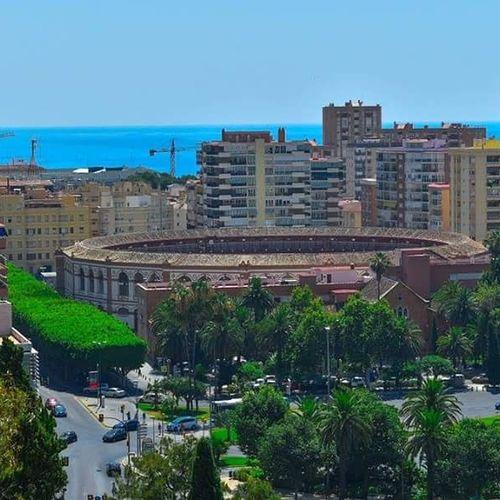 Bull fighting Malaga Spain. Taking Photos Hello World Eyemphotography Spain ✈️🇪🇸 Malagacity Malaga♡