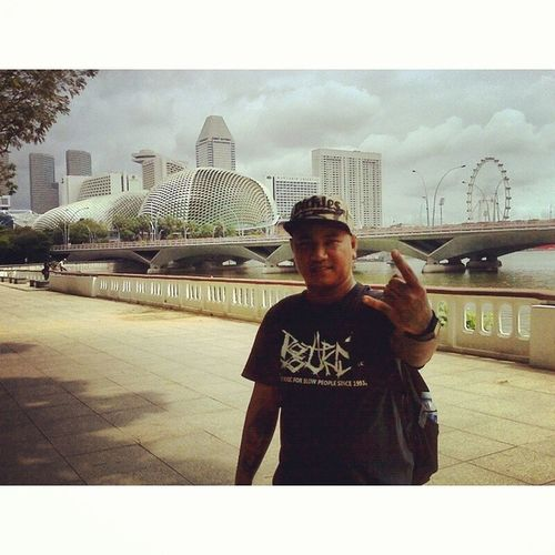 Next city of Lion 'Singapore MarinaBays Asiatrip Lonely Rottensound concert smarttravel InstaSize instafuck