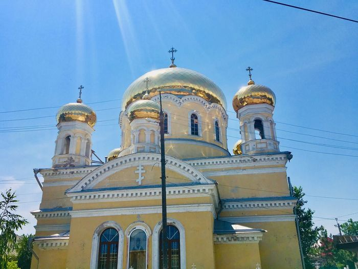 Church Built Structure Place Of Worship Belief Religion Building Exterior Architecture Dome Building Travel Destinations Spirituality Low Angle View Tourism Travel History Nature Outdoors Sky No People The Past