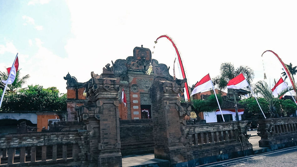 puri agung klungkung Bali INDONESIA Building Klungkung Landmark Landmarkbuildings Puri Traditional