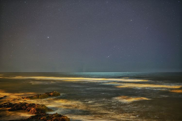 Morocco Photos Astronomy Star - Space Constellation Sea Night Space Star Field Horizon Over Water Milky Way Ocean View Astrology Sign Galaxy Long Exposure Beauty In Nature Sky Scenics Nature Clear Sky No People Outdoors Silhouette Light And Shadow Morocco Streamzoofamily