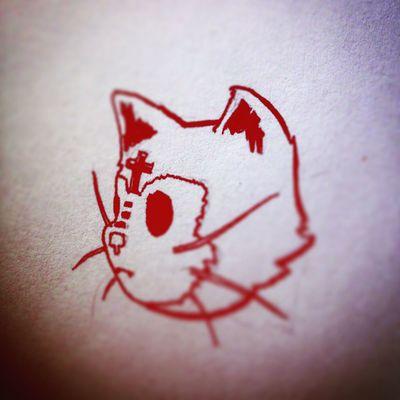 www.nobabylon.com Cat Tattoo Design Characterdesign No Babylon Design Studio
