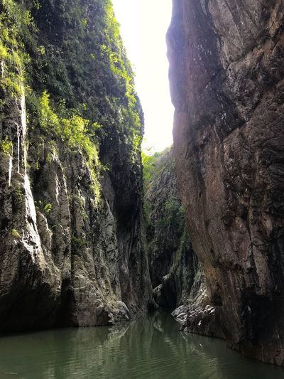Looking For Adventures Rock Formation Peace In A World Of Chaos Beauty In Nature Backgrounds Water Nature Outdoors No People River Canyon Somoto , Nicaragua Nature Perspectives On Nature Be. Ready.