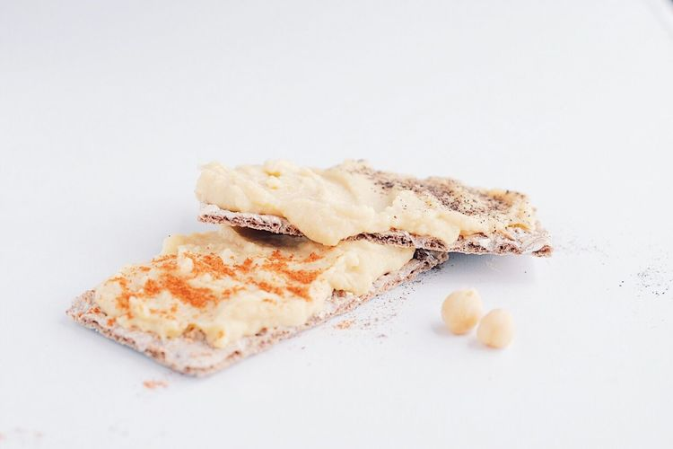 Hummus Break Breakfast Healthy Eating Healthy