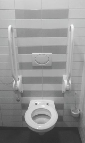 After surgery, once the urinary catheter is removed, you enjoy sitting here. EyeEm Eyeemphotography Photography Mobile Photography Heart Hospital Hospital Life Open Heart Surgery B&w Photography Black And White B&w Toilet Ziekenhuis Krankenhaus