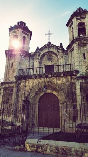 Daylight Day No People Church Church Architecture Caraibbean Architecture Sunlight