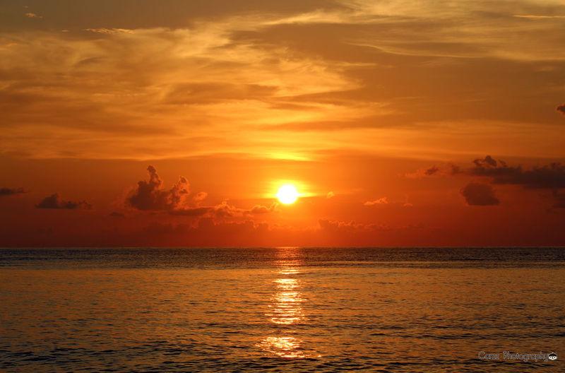 Beauty In Nature Horizon Over Water Limpapa, Zamboanga City Nature No People Orange Color Outdoors Reflection Scenics Sea Silhouette Sky Sun Sunset Sunset_collection Tranquil Scene Tranquility Water