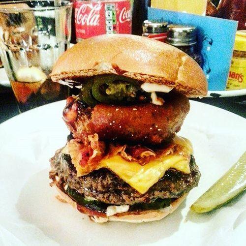 B-rex burger at