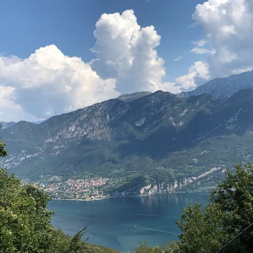 Bellagio No Filter Bellagio Lago Di Como Lombardia Italy Cloud - Sky Water Sky Mountain Scenics - Nature Tree Beauty In Nature Plant Nature Mountain Range Tranquil Scene Day Tranquility Lake Growth Non-urban Scene Outdoors