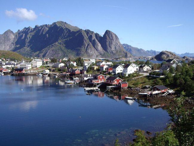 Reine, Lofoten Islands, Norway Landscape Lofoten Norway Colors