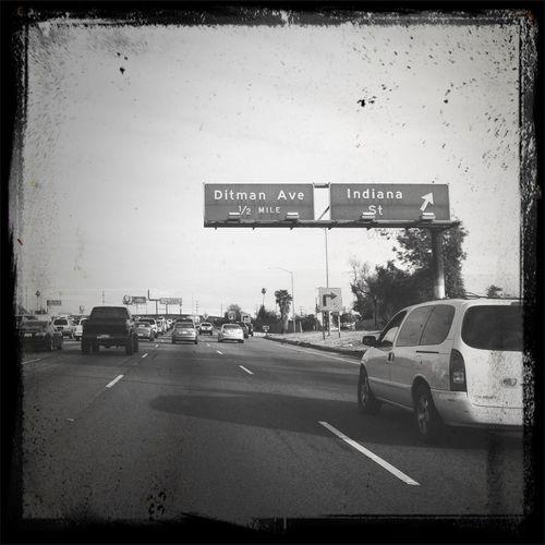 I-5 Santa Ana Frwy Southbound