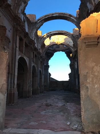Arch History Architecture Built Structure Old Ruin Ancient Sky