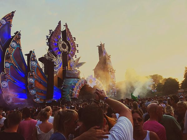 AFROJACKYYYY 🎉 Netherlands Mysteryland Large Group Of People Celebration Crowd Festival Awsome Awsome Day ♥ Famous Place Enjoying Life Party Time Hanging Out Sunset Magic Enjoying The View Music Check This Out Hello World