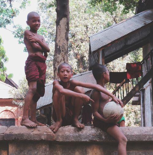 Monk  Travel Photography Eye4photography  The Traveler - 2015 EyeEm Awards Myanmar People Kids