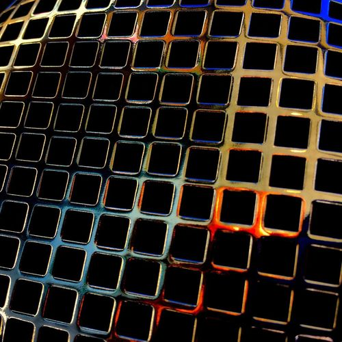 Harley Davidson Air Filter Intake Binnie Bell & Colvill Chrome Abstract Pattern Grid Backgrounds Full Frame Grate Metal Metal Grate No People Geometric Shape Repetition Textured  Security Outdoors Protection