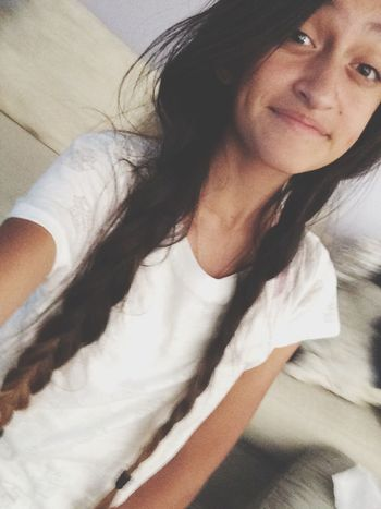 I look like a 7 year old with braids