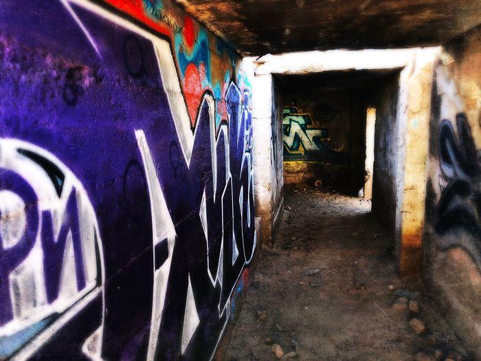 Arizona Graffiti Built Structure Architecture Illuminated