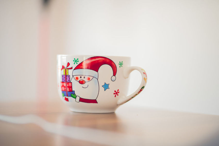 Christmas Home Home Is Where The Art Is Relaxing Santa Santa Claus Tranquility Winter Wintertime Xmas Cup Day Focus On Foreground Gift Happy Time Indoors  Selective Focus