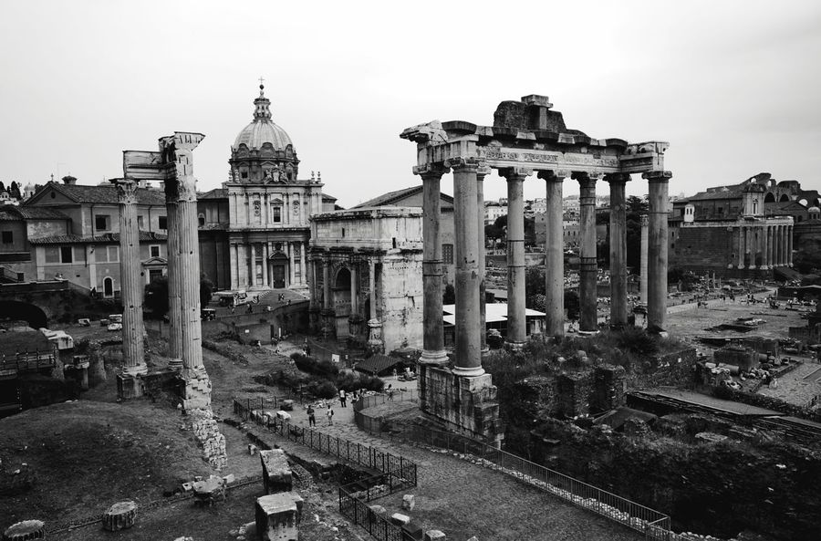 Shades Of Grey Rome Italy Travel Achitecture James Young Ruins Black And White Shades Of Grey