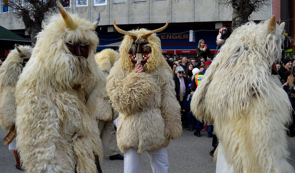 Busojaras Busó Busójárás Mohács Hungaricum Mohács Spring Festival Winter End Winter Festival