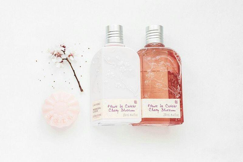 Loccitane Loccitaneenprovence Beauty Bottles Cherryblossom Cherry Blossom