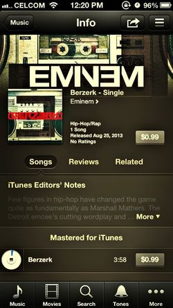 Albums Eminem On Itunes Earth
