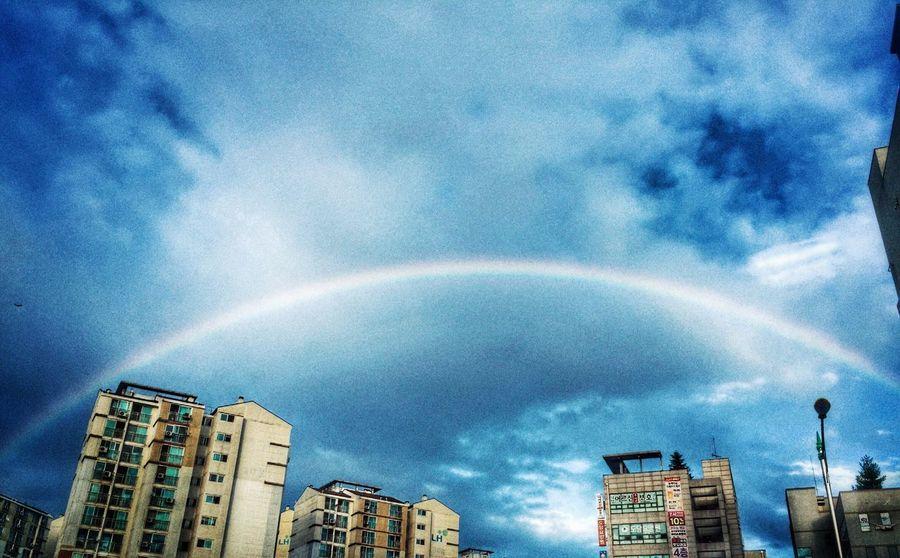 Rainbow Sky Still Life Iphonephotography