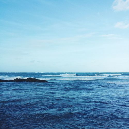 I live where you vacation Puerto Rico Beach Blue Wave