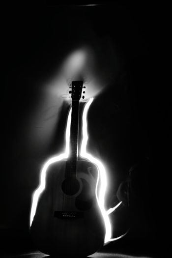 NIKON D5300 Nikonphotography Light Drawing Guitar Cheese! Creative Light And Shadow Creative Photography Light Trails