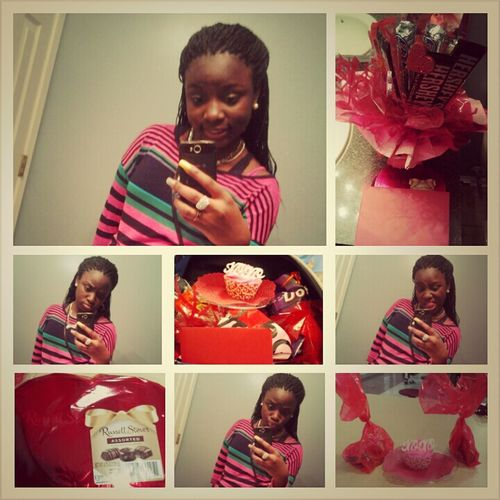 me and my gifts :)