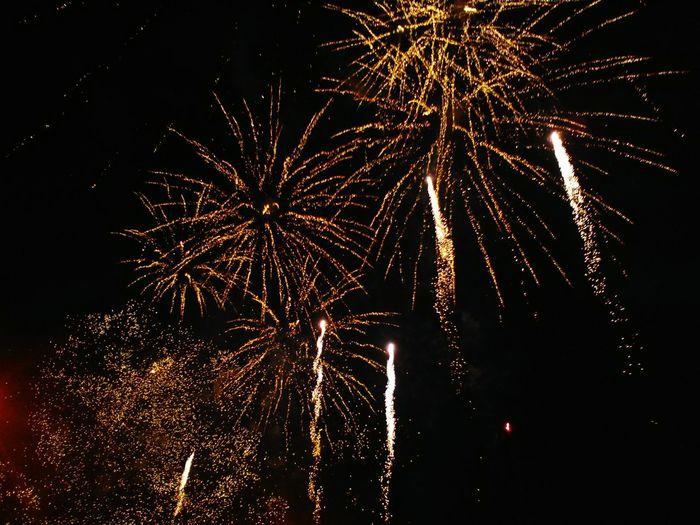Celebration Night Illuminated Sky Multi Colored