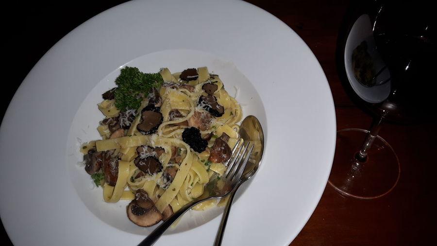 Tagliatelle Al Tartufo Nero Italian Food Tartufo Black Truffle Zomertruffel 43 Golden Moments Home Is Where The Art Is Exquisite Food