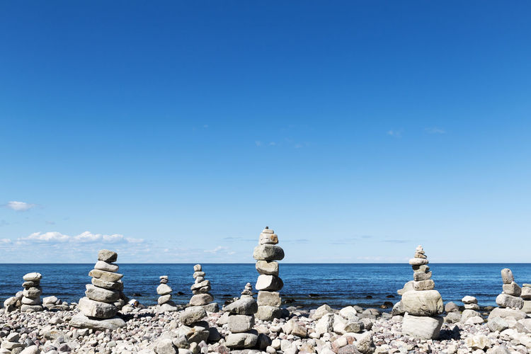 A view at the northern tip of Öland, Sweden Coastline Stack Sweden Balance Beauty In Nature Blue Horizon Over Water Landscape Nature No People Outdoors Pebble Rock - Object Scenics Sea Sky Stability Stone - Object Stone Material Summer Tranquil Scene Tranquility Water Zen-like Öland Breathing Space Investing In Quality Of Life Summer Exploratorium The Great Outdoors - 2018 EyeEm Awards
