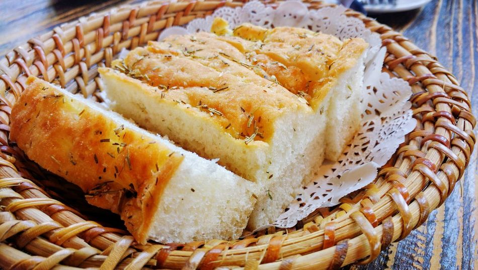 Bread Lunch Rosemary Herb Soft Bread Yummy Yummy Food Close-up Ready-to-eat Eat Food